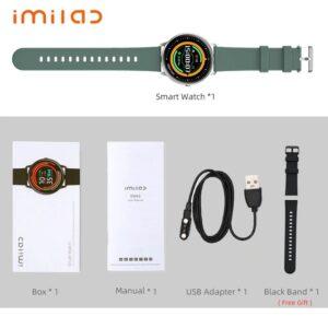 Xiaomi IMILAB Smartwatch KW66 (Silver+Black)